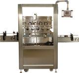 Линейная бутылка масла обрабатывая машину для прикрепления этикеток машины завалки