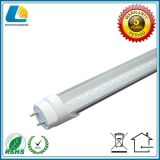 5 anni della garanzia di alta efficienza della radura del coperchio T8 LED di indicatore luminoso del tubo