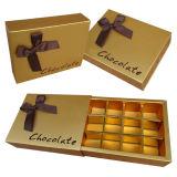 Personalizar a caixa de papel extravagante Handmade do chocolate