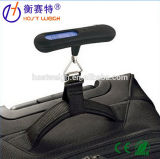 10g/50kgホックおよびストラップが付いている携帯用荷物のデジタルスケール