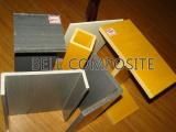 Профиль Pultruded стеклоткани, пробки стеклоткани, углы, пробки GRP/Glassfiber
