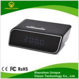 Cámara ocultada alejada del reloj del IP 1080P Digitaces de WiFi con la lente ancha de HD 136