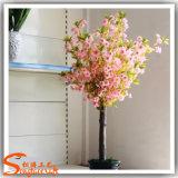 Nouveau design Soie et plastiques artificielles Cherry Blossom Arbre