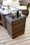 Pátio Outdoor Tea Table Wicker Furniture