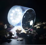 Luz solar inflável impermeável portátil para acampar