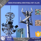 башня радиосвязи антенны 18m-36m гальванизированная сталью Monopole