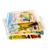 Livre d'histoire d'enfants estampé par coutume respectueuse de l'environnement