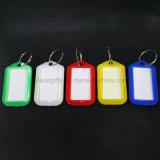 Indicateur de clé de bracelet, chaîne principale d'étiquette nommée de vente en gros