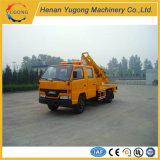 Vehículo de la reparación de la cerca del camino para la construcción de carreteras