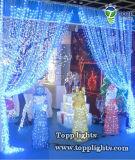 [أم] عيد ميلاد المسيح عطلة زخرفة [لد] ستار ضوء
