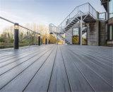Decking composé en plastique en bois extérieur respectueux de l'environnement de WPC