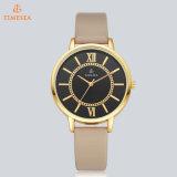 Relógio de pulso 71274 da senhora Quartzo da forma do aço inoxidável da promoção