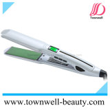 Premier fer plat de vente de cheveu imperméable à l'eau de qualité avec la vente en gros imperméable à l'eau de redresseur de cheveu d'écran LCD