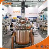 Precios de mezcla del tanque del reactor del producto químico vestido de alta presión del acero inoxidable de Heaing del vapor