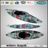 Single Sit в пластмассе Белая вода Kayak