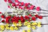 Цветки фальшивки цветения персика искусственних цветков для домашнего украшения