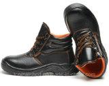 Esd-PU-Einspritzung-Funktions-Schuh-Leder-Sicherheits-schützende Arbeits-Schuhe mit Stahlzehe-Schutzkappe für Männer