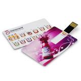 Azionamento della penna di figura della carta di credito, USB 3.0 dell'azionamento 16GB dell'istantaneo del USB della carta di credito con stampa su ordinazione