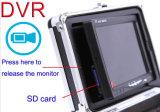 Durchmesser-Kabel Cr110-73 der Unterwasserunterwasserkamera-7 '' des Monitor-DVR 2.6mm