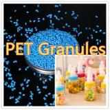 Gránulos de plástico PET virgen