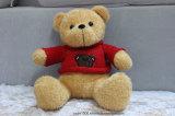 Peluche macia do brinquedo do urso do luxuoso