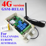 la versión 4G G/M-Retransmite el regulador compatible del telecontrol del G/M de la salida del relais de 3G y del G/M siete