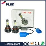 H4 resistor blanco de la carga de la linterna del CREE LED 18W DC8-28V LED