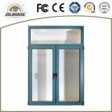 Окно Casement хорошего качества подгонянное фабрикой алюминиевое