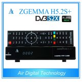 DVB S2X + DVB S2 + спутник DVB T2/C самый новый приемник Zgemma H5.2s+ H. 265 TV