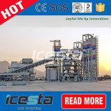 Plantas refrigerando concretas da máquina da fábrica de gelo