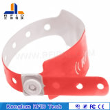 Wristband identificabile del PVC di vendita calda RFID per il concerto vocale