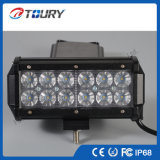 Luces de conducción autos del jeep SUV LED de la barra ligera 36W del coche LED