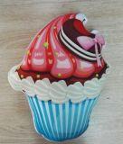 3D 사진 음식 베개 견면 벨벳 아이스크림 베개 또는 방석