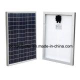 Верхняя панель солнечных батарей качества 50W поли для сбывания и домочадца