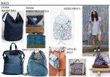 Handtas 2017 van de Jeans van dames Vrije tijd Gewassen de Nieuwe Toebehoren van de Manier van Vrouwen