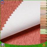 Tissu de rideau en polyester tissé par arrêt total à la maison de Waterproo franc d'enduit de textile