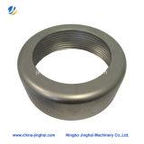 Couverture ronde en métal d'accessoires de lampe d'alliage d'aluminium de précision d'OEM