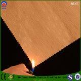 Tela impermeable tejida de la cortina del apagón de la tela de la tela del poliester para la ventana y el sofá