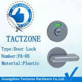 Della fabbrica serratura di portello di plastica direttamente per il hardware del divisorio dei cubicoli della toletta