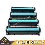 Cartouche de toner pour photocopieuse couleur couleur directe pour HP CB540A / CB541A / CB542A / CB543A (125A) Prix concurrentiel / échantillon gratuit
