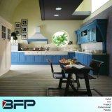 O melhor preço para o projeto simples do gabinete de cozinha com porta de PVC/Vinyl