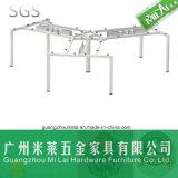 A mesa a mais atrasada da estação de trabalho do escritório de projeto da cruz do projeto com frame patenteado