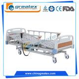 3 Bedden van het Ziekenhuis van functies de Elektrische met de 6-weelderige Leuningen van de Legering van het Aluminium met Motor L&K (GT-BE1004)