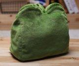 Cubierta de rectángulo triste del tejido de la felpa de la rana los 22X21cm