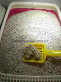 Streifen-Katze-Sänfte mit weniger Staub