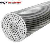 Проводник проводника усиленный сталью ACSR ASTM B232 алюминиевой