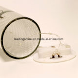 暖かい白LEDの誕生日のスターライトのびんの白いガラスは感情的なメッセージのびんをつける