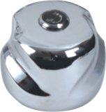 Maneta de grifo del plástico del ABS con el final del cromo (JY-3049)