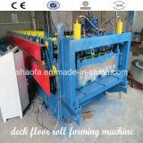 Rullo automatico del pavimento della piattaforma che forma macchina