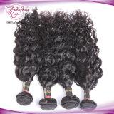 Cheveu normal de Péruviens de prolonge de cheveu de Vierge d'onde